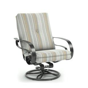 Conley Swivel Patio Chair with Sunbrella Cushion