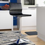 Cadoz Adjustable Height Swivel Bar Stool by Wade Logan®