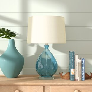 Croxton Table Lamp in Teal..