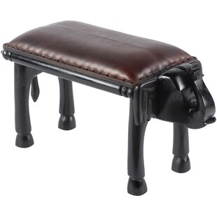 Gabe Solid Wood Bench By World Menagerie