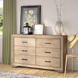 Laurel Foundry Modern Farmhouse Payne 6 Drawer Double Dresser