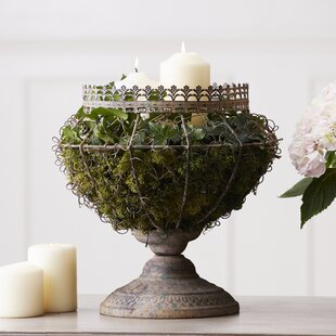 Liesse Metal Urn Planter By Lily Manor