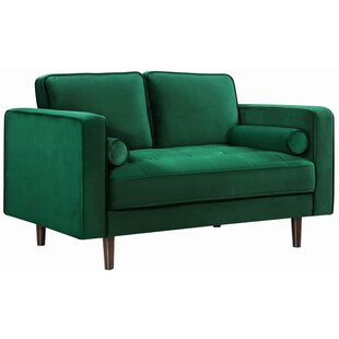 Pamula Chesterfield Loveseat b..