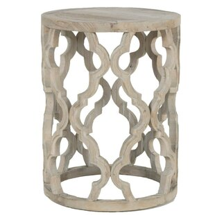 Bungalow Rose Rye Wooden End Table