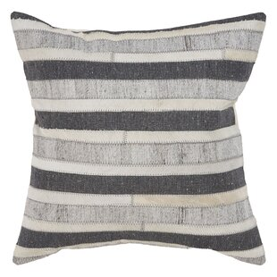 Cipriano High Contrast Faux Fur Throw Pillow