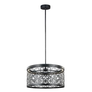 Bungalow Rose Veer 1-Light Outdoor Pendant