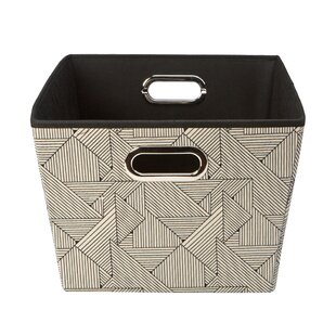Reviews Natural Grommet Fabric Box ByWrought Studio