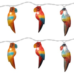 The Holiday Aisle Parrot 10 Light Novelty String Light