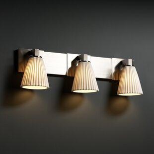 Affordable Price Katya 3-Light Vanity Light By Bayou Breeze