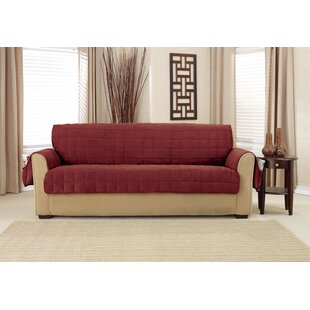 Compare & Buy Box Cushion Sofa Slipcover by Sure Fit Reviews (2019) & Buyer's Guide