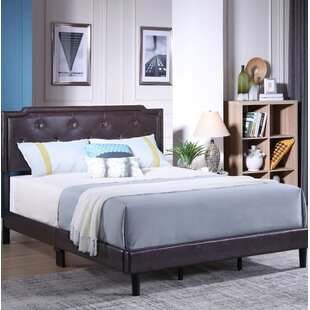 Winston Porter Indianapolis Upholstered Panel Bed