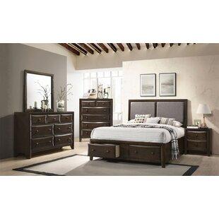 Kleopatros Upholstered Platform Configurable Bedroom Set by Red Barrel Studio