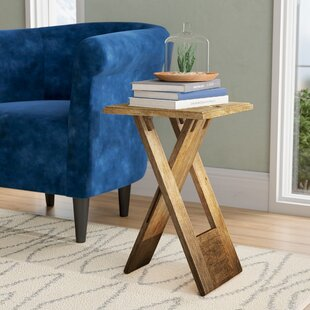 Boysen Folding End Table by Orren Ellis Find
