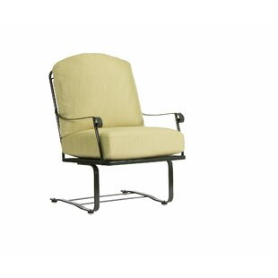 Fullerton Spring Patio Chair with Cushions by Woodard