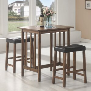 Hood Canal 3 Piece Dining Set by Red Barr..