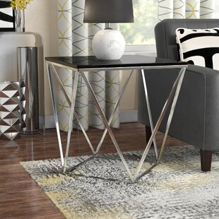 Nyla Vector End Table by Wade Logan Wonderful