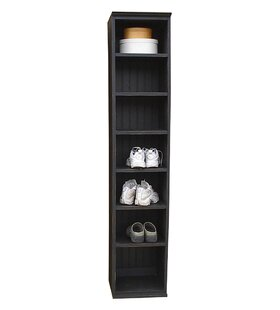 Sawdust City 7-Compartment Shoe Rack