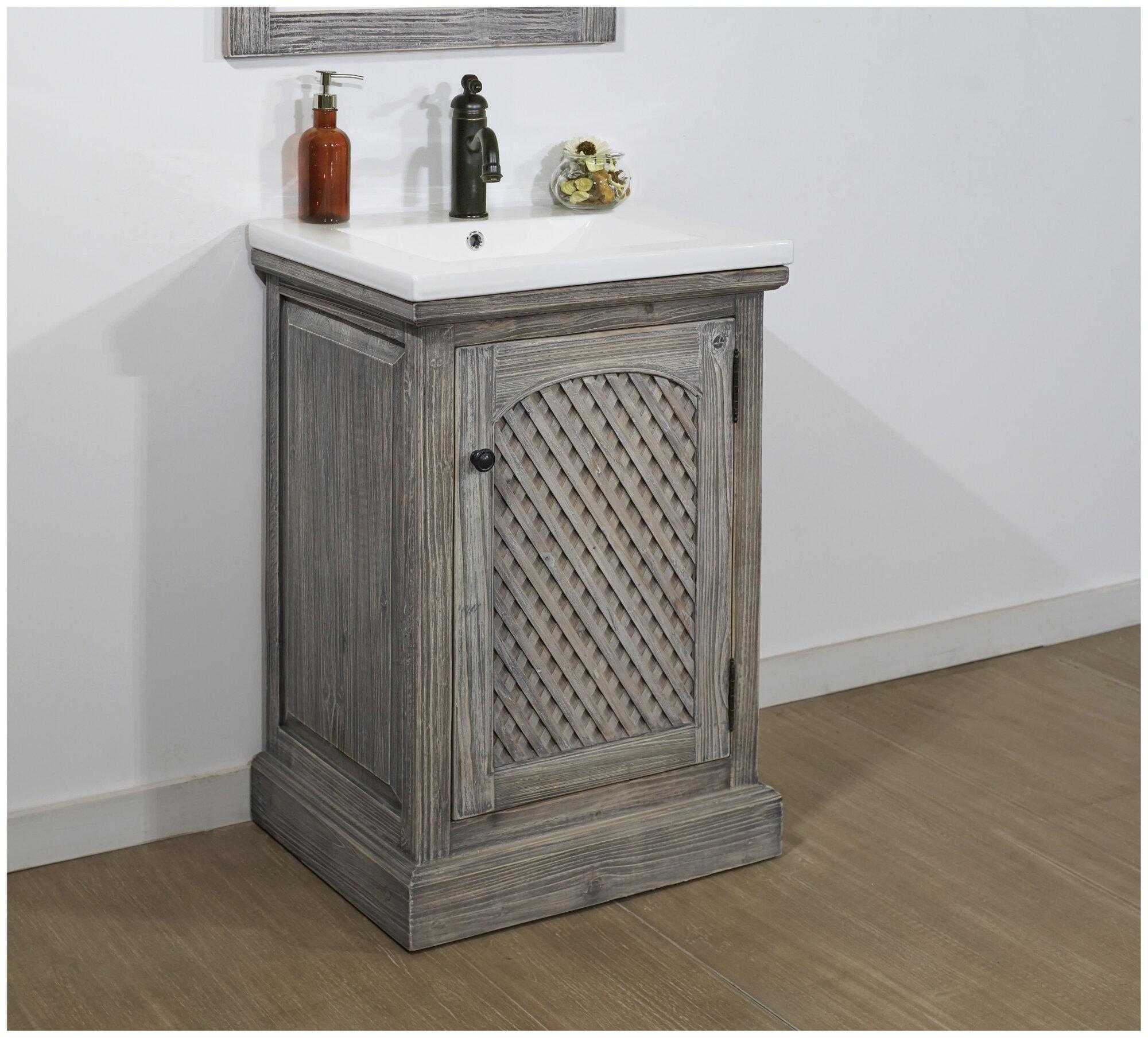 Ophelia Co Lovejoy 24 Single Sink Bathroom Vanity Set
