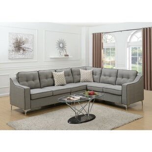 Dam Sectional by Orren Ellis Great price