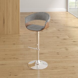 Frederick Adjustable Height Swivel Bar Stool by Langley Street Comparison