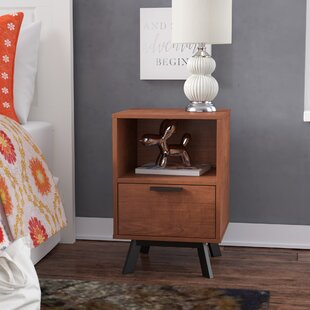 Check Prices Weinstock 1 Drawer Nightstand By George Oliver
