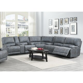 Antonella Left Hand Facing Reclining Sectional by Red Barrel Studio SKU:DE685884 Guide