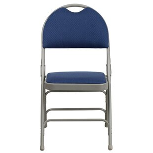 Hercules Series Personalized Fabric Padded Folding Chair by Flash Furniture