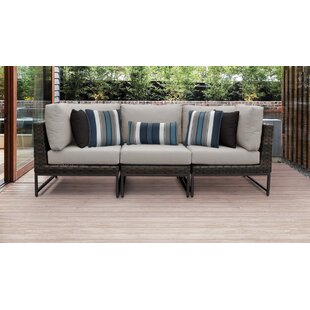 Barcelona Patio Sectional with Cushions
