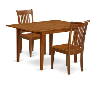 Lorelai 3 Piece Dining Set Alcott Hill