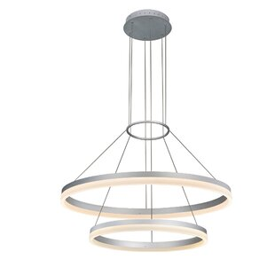 Marcelo Duo LED Geometric Chandelier