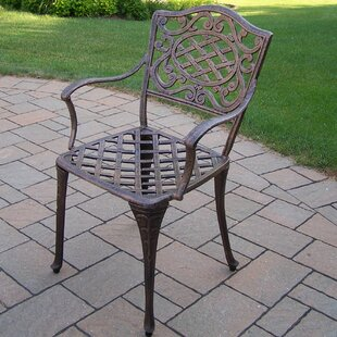 Mississippi Stacking Patio Dining Chair (Set of 2) by Oakland Living