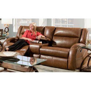 Buy clear Maverick Leather Reclining Loveseat by Southern Motion Reviews (2019) & Buyer's Guide