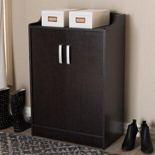 Winston Porter Shoe Storage Cabinet