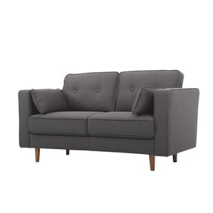 Low priced Carlyle Loveseat by Wrought Studio Reviews (2019) & Buyer's Guide