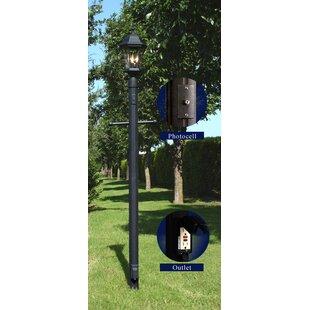 Comparison Oakhill 3-Light 92 Post Light By Charlton Home