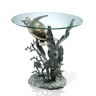 Turtle Sea End Table by SPI Home