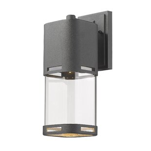 Compare Knarr 1-Light Outdoor Wall lantern By Latitude Run