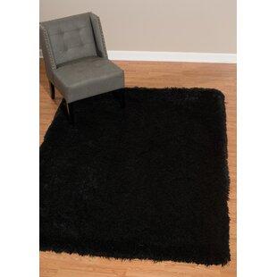 Affordable Kress Black Area Rug ByLatitude Run
