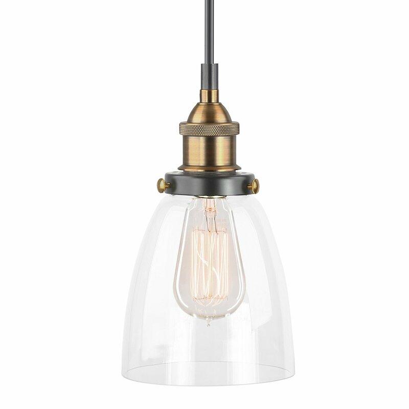 Mini-luminaire suspendu 1 lumière Bundaberg