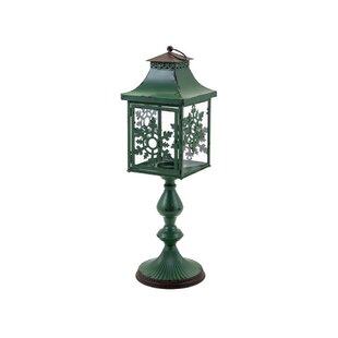 Best Reviews Snowflake Small Floor Lantern By August Grove