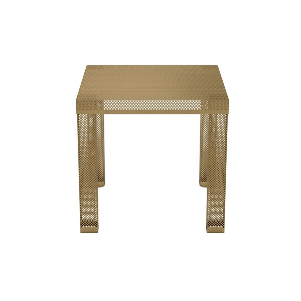 perforated metal table wayfair