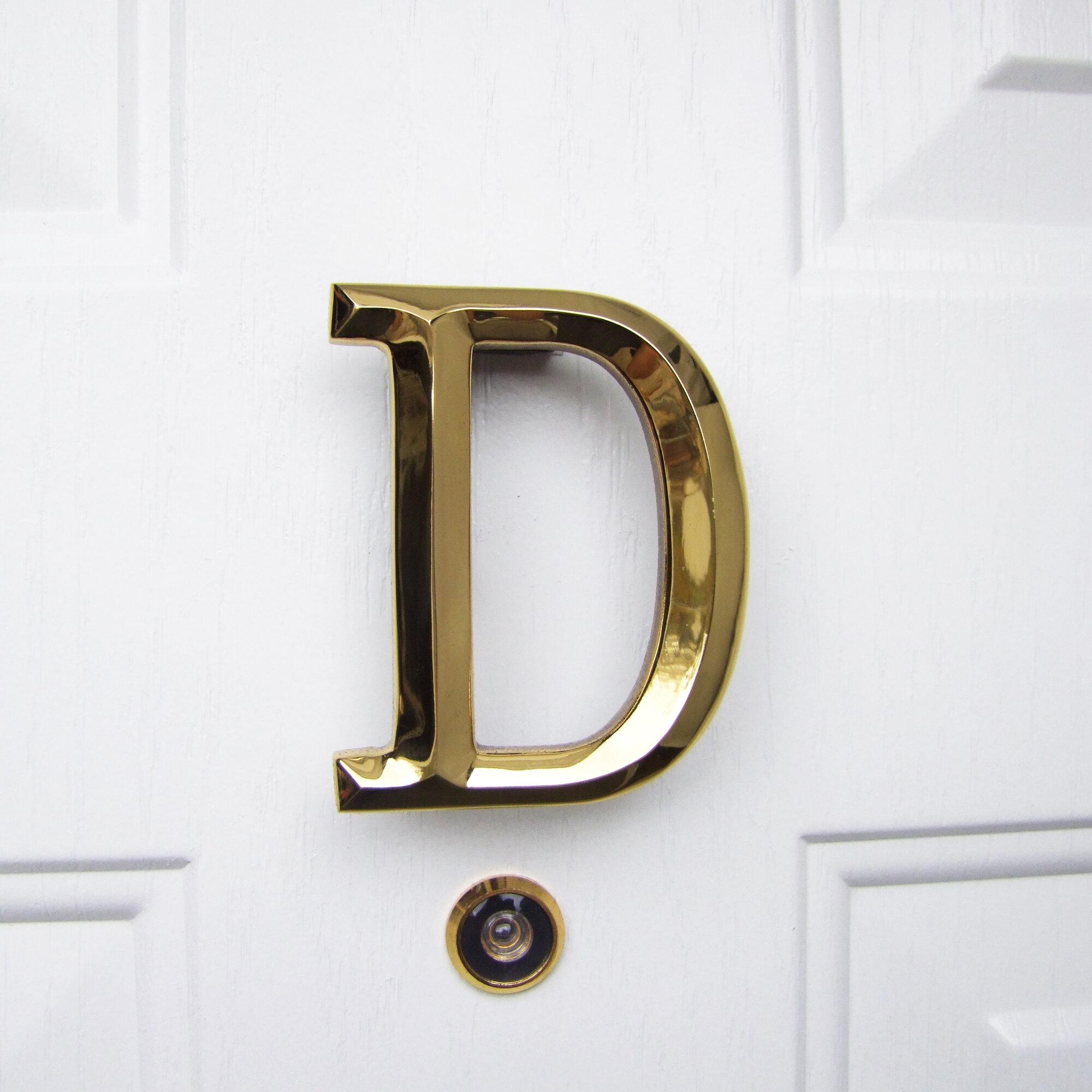 michael healy designs letter monogram door knocker wayfairletter monogram door knocker