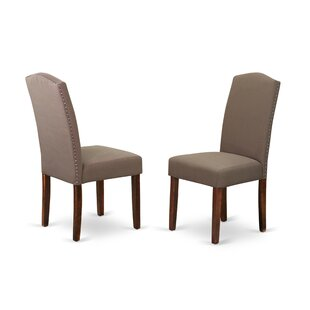 Dandrea Upholstered Dining Chair (Set of 2) by Charlton Home