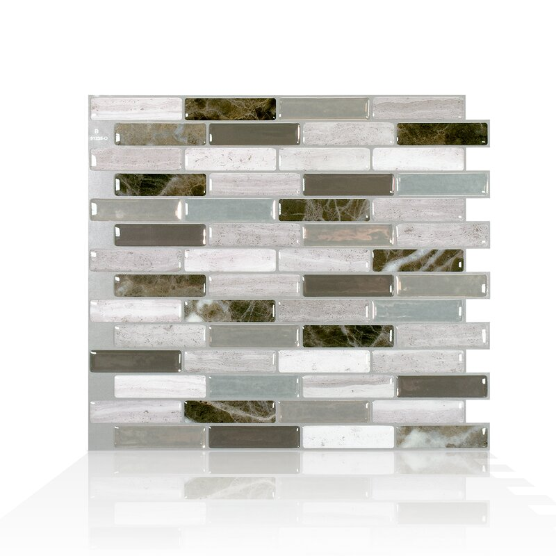 Smart Tiles Milenza Genoa 9 X 10 Gel Peel Stick Mosaic Tile Reviews Wayfair