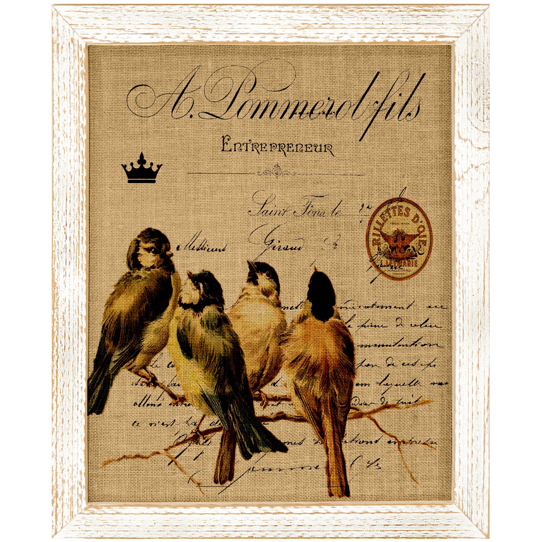 Lark Manor Bird On Branch Framed Graphic Art Wayfair