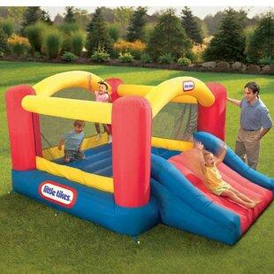Little Tikes Jump 'n Slide Dry Bounce House