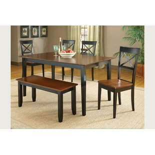 Waldron Solid Wood Dining Table by Charlton Home Wonderful