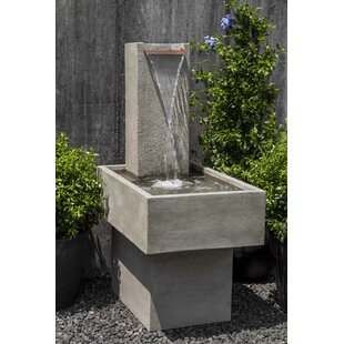 Concrete Falling Water Fountain