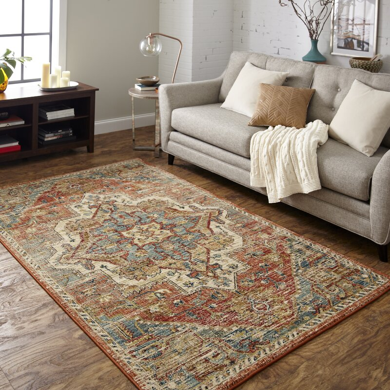 754e52e883bd7c Karastan Elements Kasbar Spice Cream Area Rug