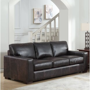 Lincolnton Leather Sofa